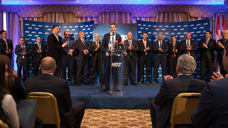 predstavljanje kandidata HDZ